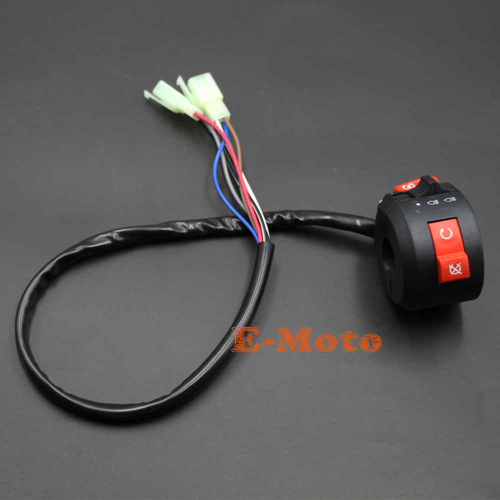 Atv Kill Light Starter Switch 125cc 110cc 90cc 70cc 50cc Chinese New 50 70 90 Wire Harness Wiring Taotao Sunl Roketa E Moto In Motorbike Ingition From Automobiles Motorcycles On