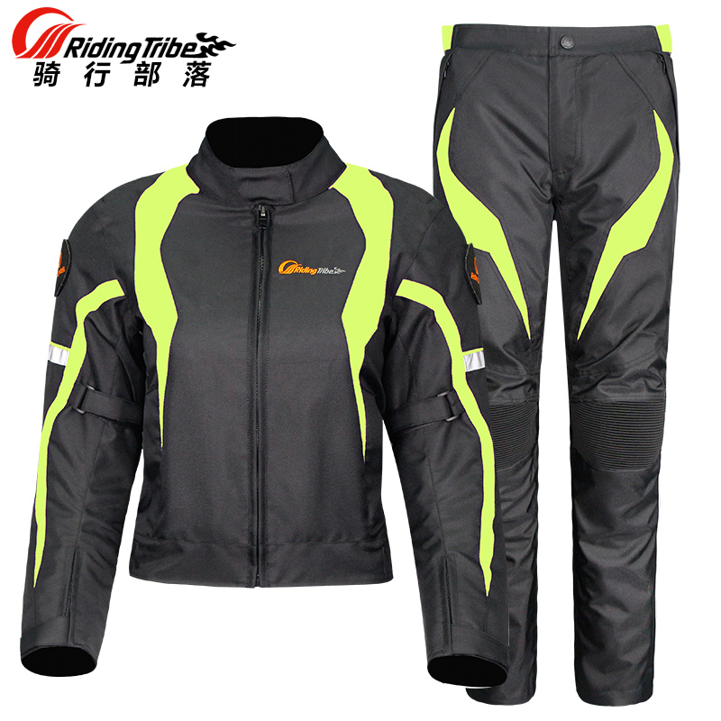 Riding Tribe Motorcycle Jacket Womens Waterproof Protective Gear Jacket Moto Pants Suit Jacket Touring Motorbike Clothing