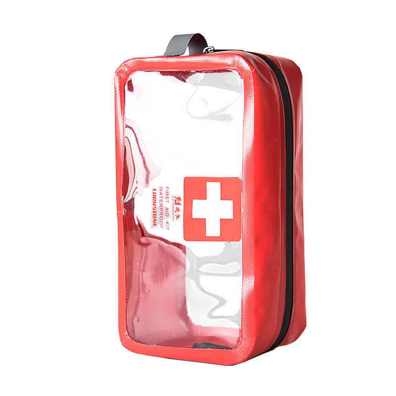 Medical Bags Portable Camping Transparent Waterproof Survival Medical Storage Bag First Aid Kit 5L