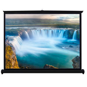 Projection-Screen Portable 40-Inch Front HD for DLP Handheld 4:3 Folded