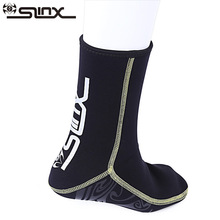 SLINX Warm Scuba Diving Socks 3mm Neoprene Boots Boots Mencegah Scratch Swimwear Wet Suit Snorkeling Spearfishing Sock