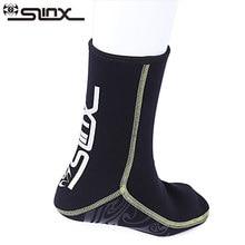 SLINX Ponožky na ponožky ponořené do ponoření 3mm Neoprénové plavecké boty Zabraňte poškrábání plavek Mokré oblečení Šnorchlování Sock