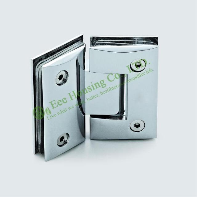Glass clips,Stainless Steel 135 degree Shower Door Hinge