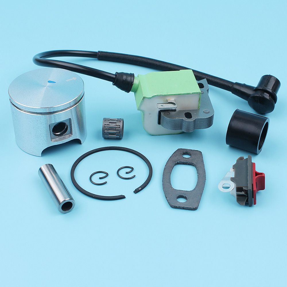 46mm Piston Pin Ignition Module Coil Kit For Husqvarna 55 Rancher EU1 Chainsaw 503608171