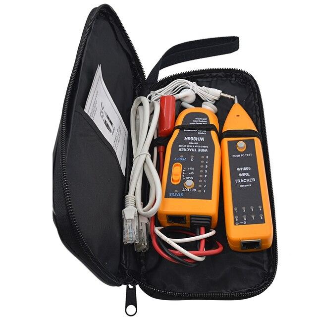 MJTEK Multifunktionale Kabel Tester WH806R Telefon Draht Ethernet ...