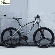 New X-Front Brand 26 inch 21/24/27 speed carbon steel downhill mountain bike one wheel bicycle outdoor travel bicicleta