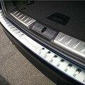 Багажника заднего бампера дверной порог порог гвардии плиты совета отделкой наклейка крышка для jaguar XF XE f темп f темп-интерьер аксессуары