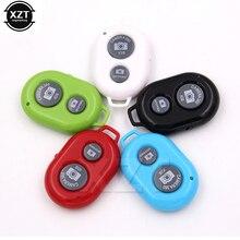 Пульт дистанционного спуска затвора селфи Bluetooth пульт дистанционного управления монопод Кнопка автоспуска+ защитный силиконовый чехол для iPhone