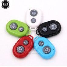 Obturador remoto para selfie, obturador bluetooth com controle remoto botão monopé temporizador + capa protetora de silicone para iphone