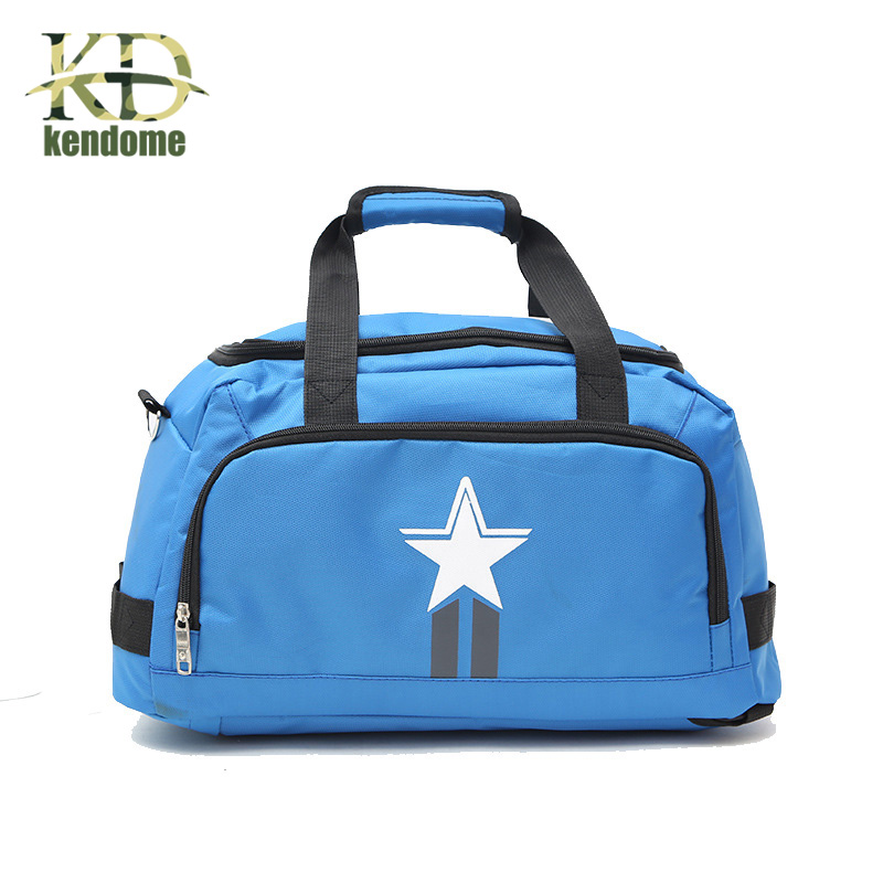 K&D Gym Fitness Outdoor Travel Backpack Waterproof Large Capacity Nylon Handbag Women Men 5 Colors Duffle yoga Bags ...