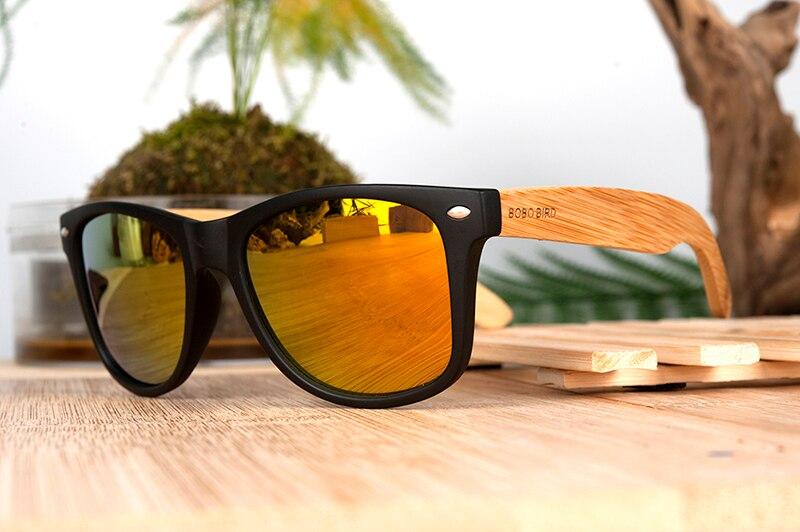 Bobo bird cg004 artesanal óculos de sol