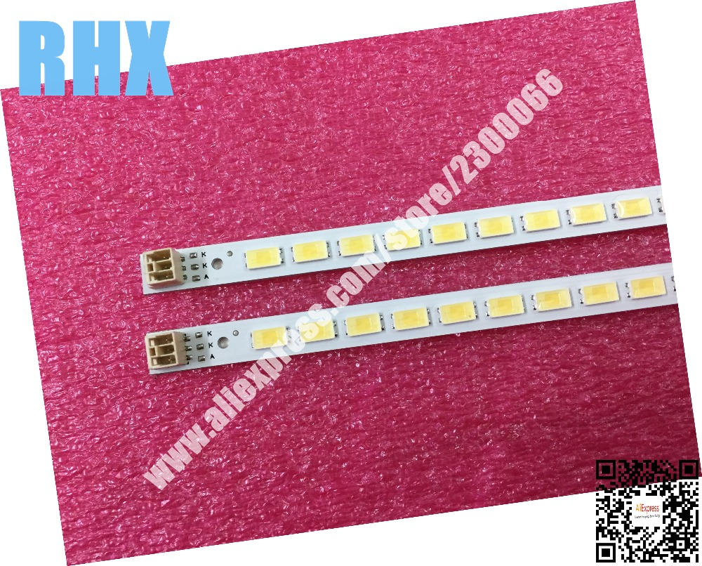 цена 2piece/lot FOR Samsung LCD TV LED backlight Article lamp LJ64-03567A SLED 2011SGS40 5630 60 H1 REV1.0 1piece=60LED 455MM is new