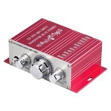 HY-2001 Hi-Fi стерео аудио усилитель звуковой режим музыкальный плеер 2 канала CD DVD MP3 вход передача Hi-Fi стерео для автомобиля мотоцикла