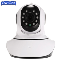 HD 720P 3 6mm Auto Zoom Lens WIFI Wireless PTZ IP Camera IR Cut Onvif Dome