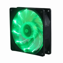 2Pcs Gdstime Quiet 15 Green LED 90MM DC 12V 3P Desktop PC Computer Case Cooling Fan a057 quiet pc case fan w led 4 color light transparent