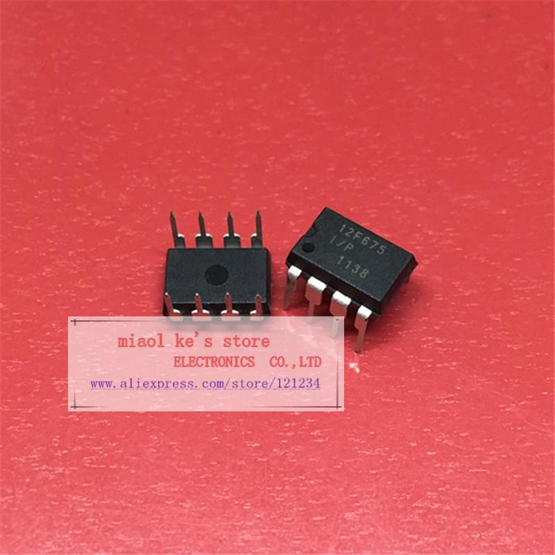PIC12F675-I//P  IC MCU 8BIT 1.75KB FLASH 8DIP