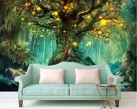 Beautiful dream 3D Photo Wallpapers forest 3D Wallpaper Murals Home Improvement TV Backdrop