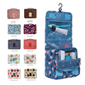 New 2016 Women Waterproof Portable Travel Hanging Cosmetic Bag Mesh Toiletry Storage Purse Organizer Makeup Pouch Multifunction