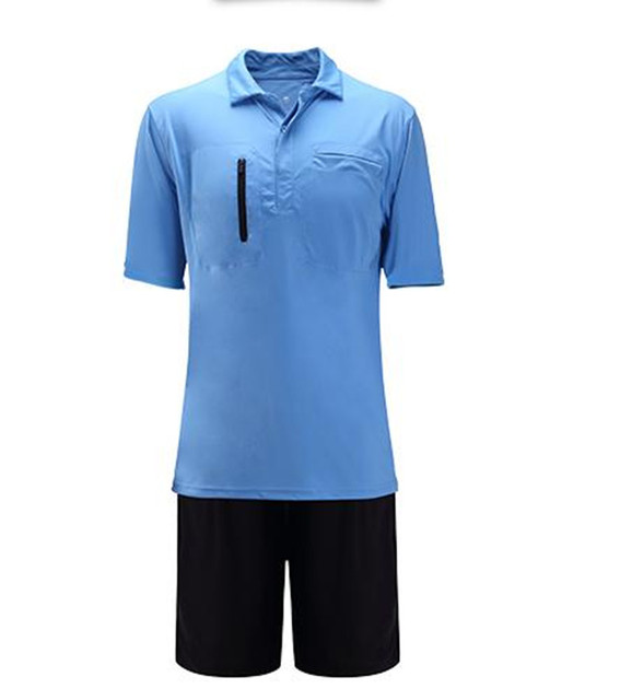 e12f6e1e277af Nuevos hombres profesional Fútbol árbitro uniformes Jersey set juez  tracksuits ropa baloncesto fútbol Jerséis traje pantalón