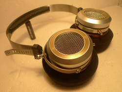 Metal fever headphones 53mm driver 360g super Classical music performance HIFIMAN gold plated mother seat