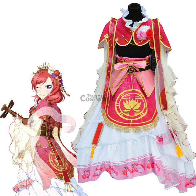 Love Live School Idol Project Nishikino Maki Seven Lucky Gods Dress Uniform Outfit Anime Cosplay Costumes