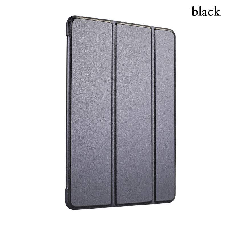 цена на Case for iPad Air 1 Case PU Leather Silicone Soft Back Trifold Stand Auto Sleep/Wake up Smart Cover for iPad 5 Case Coque