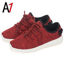 Limited-time discount non-slip men casual shoes women sport wedge walking shoes zapatos mujer lace up sales female high quality