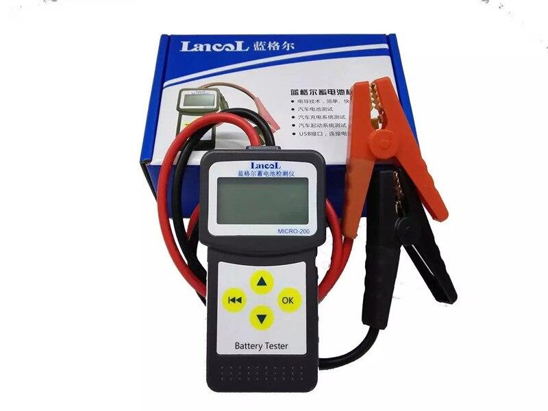 12 V Aumotive Fahrzeug Neue Auto Batterie Tester Micro-200 GüNstige VerkäUfe