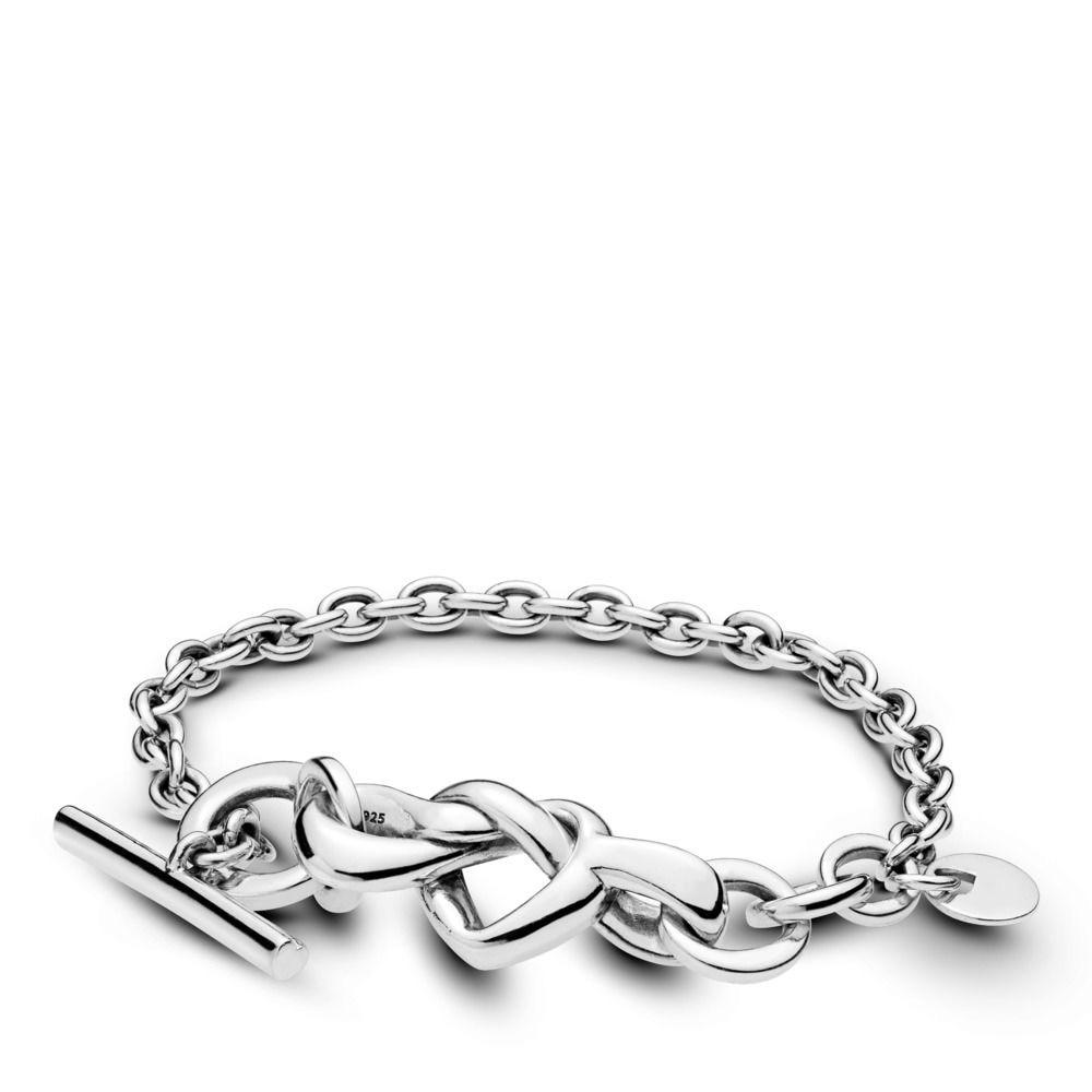 2019 nouveau 925 en argent Sterling Bracelets breloques enroulement chaîne d'amour pour les femmes fête mariage Fit bricolage perles breloque