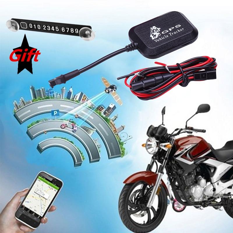 Bil Elektrisk Cykel Motorcykel GPS Tracker SMS Nätverk Trunk Tracking System Locator Enhet Google Link Realtid GPRS Tracker