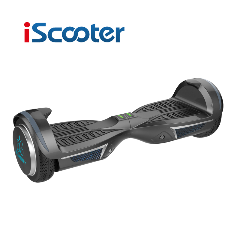IScooter Hoverboard Bluetooth 7 5inch 2Wheel Electric Skateboard Steering Wheel Self Balancing Skateboard Drift Scooter With