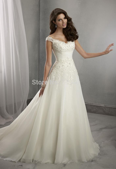 White Cinderella Wedding Dresses Plus Size Dress 2015 New Fashion Floor Length Bridal Gowns Backless