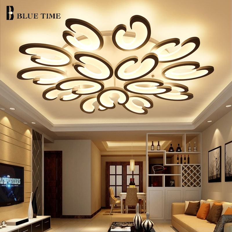 Have An Inquiring Mind Led Ceiling Light Modern Lamp Panel Living Room Round Lighting Fixture Bedroom Kitchen Hall Surface Mount Flush Remote Control Ceiling Lights Ceiling Lights & Fans