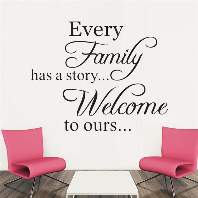 Dolce Famiglia Wall Sticker Carta Da Parati autoadesiva Ogni ...