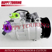 7SEU17C AC AIR CONDITIONER COMPRESSOR FOR BMW 5 E60 E61 530i