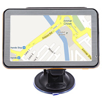 Zeepin 5 Inch Car GPS Navigation TFT LCD Touch Screen 6 Maps Available FM Radio Suction Cup Guidance Multifunction Navigator