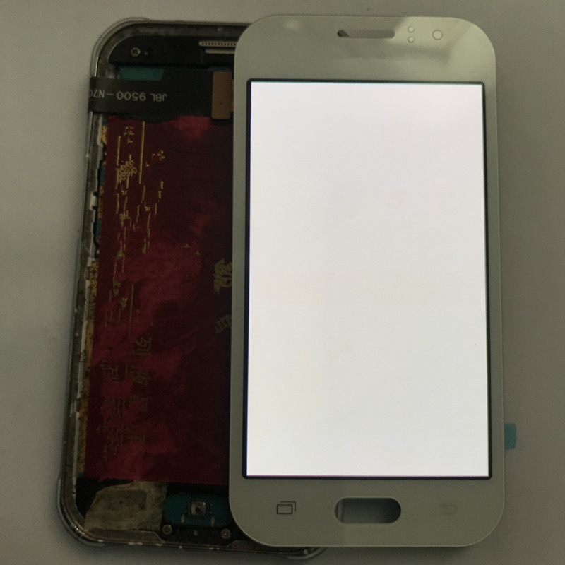 ORIGINAL Super AMOLED Burn in Shadow LCD for SAMSUNG Galaxy J1 Ace Display J110 J110H LCD Touch Screen Digitizer Replacement