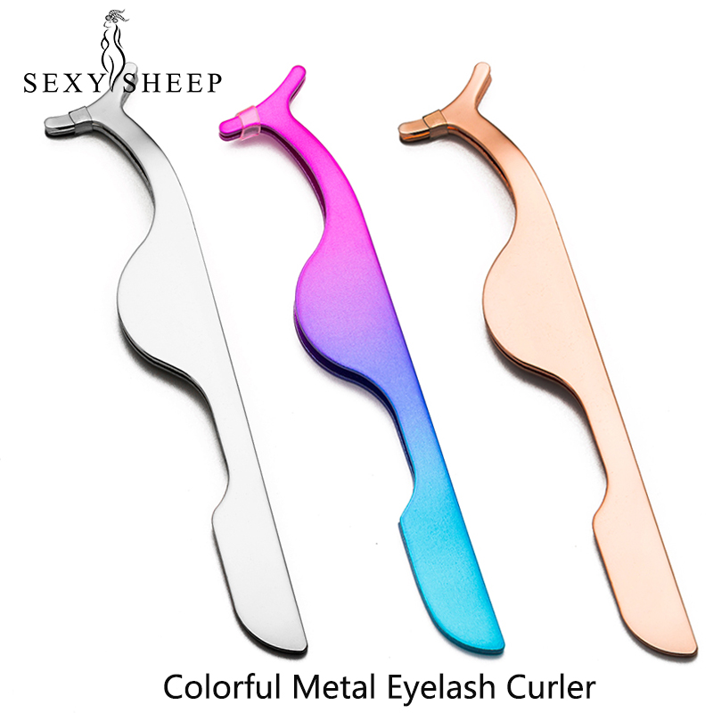 SEXYSHEEP Handmade Fake Eyelashes Natural Long Thick Daily Makeup Thick Cross Eyelashes Eye Lashes Curler Eye Lashes Tweezers