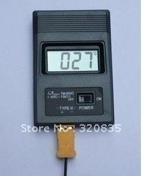 Freeshipping K Type Digital Thermometer/thermodetector TM-902C + Thermocouple Probe