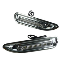 For M/azda 6 Low C/onfiguration 2009 -2013 Daylight ABS Cover Car DRL Waterproof 12V LED Daytime Running Light