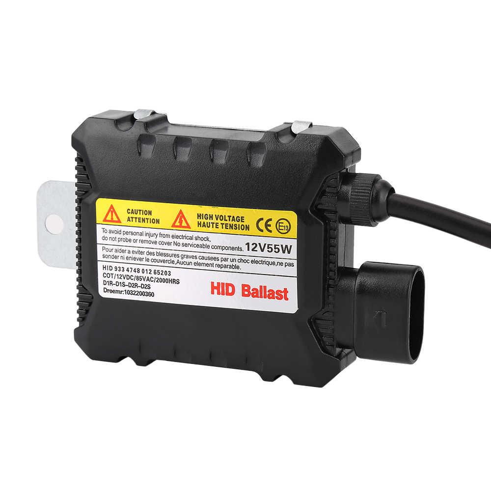 12V 35W 55W DC Digital Slim Blocks Electronic Ballast Relay Harness Wiring for HID Xenon Headlight H1 H3 H4 H7 H11 9005 9006
