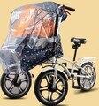 Accesorios de bicicletas de los niños de los niños cesta cochecito de bebé cubierta de la lluvia de mosquiteros
