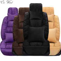 Car Wind Flocking Cloth Plush Universal Car Seat Cover For Lada Granta Fiat Palio Mazda 626