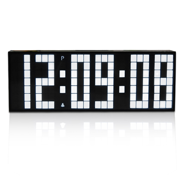 CH KOSDA LED Countdown Timer Alarm Clock Digital Large Big LED Jumbo Desk  Table Room Kitchen Clock Snooze Calendar Temperature In Alarm Clocks From  Home ...