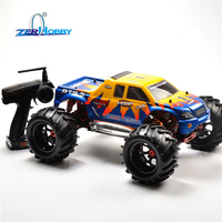 HSP RACING RC CAR 94083 94083GT 1/8 SCALE NITRO POWERED 4WD OFF ROAD MONSTER TRUCK HIGH POWER TW SH28CXP ENGINE