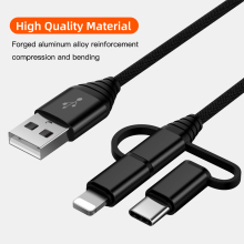 3 in 1 Mobile Phone USB Charging Cable f
