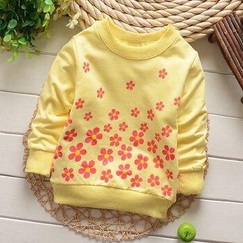 (1piece /lot) 100% cotton 2018 Cute sweet flower  baby outerwear 2
