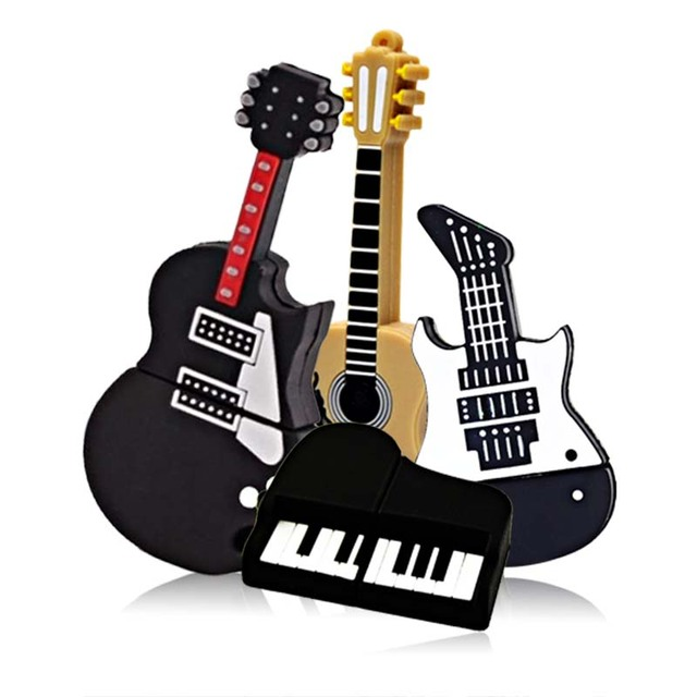 Image result for musical instruments flash drive