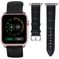 V-moro nuevo lujo correa de reemplazo para apple watch bandas venda de reloj de cuero 42mm
