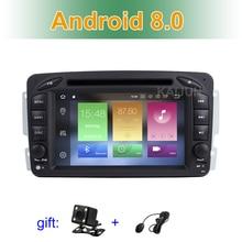 Ips экран 4 г Оперативная память Android 8,0 dvd-плеер автомобиля для Mercedes/Benz W203 W209 C209 W639 Viano Vito С gps Радио BT WiFi